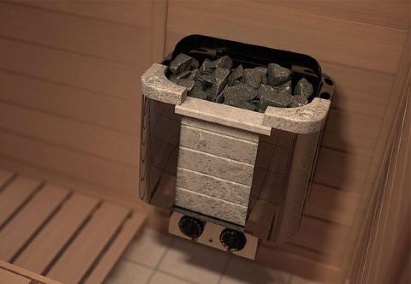 Электрическая печь SAWO CUMULUS CML-90NB (9 кВт, встроенный пульт, облицовка – талькохлорит)