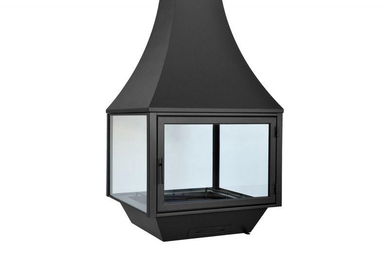 Камин дровяной для дома и дачи подвесной . Модель LOFT - 11.