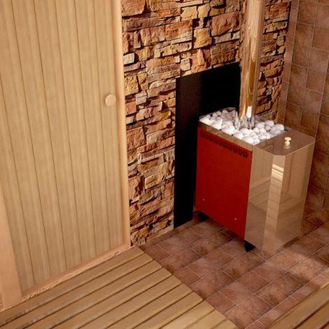 Печь для бани и сауны Сахара 10 ЛБ с АГГ13П*