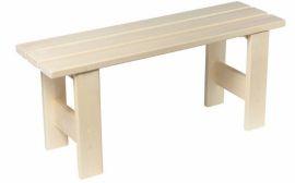 Скамейка для бани 1,0м.