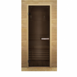 Дверь стекло бронза 1900х700 мм