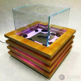 Биокамин Impulse c подсветкой LED (ZeFire)