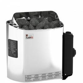 Электрическая печь SAWO SCANDIA SCA-45NB-Z (4,5 кВт, встроенный пульт, внутри оцинковка, снаружи нержавейка)