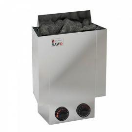 Электрическая печь SAWO NORDEX MINI NRMN-36NB-Z (3,6 кВт, встроенный пульт, внутри оцинковка, снаружи нержавейка)