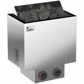 Электрическая печь SAWO NORDEX NRX-90NB-Z (9 кВт, встроенный пульт, внутри оцинковка, снаружи нержавейка)