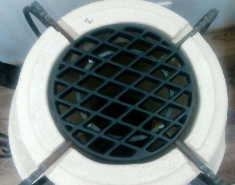 Решётка чугунная для стейков d 210 мм