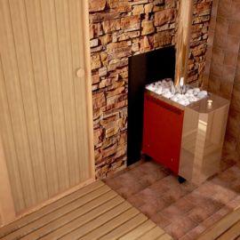 Печь для бани и сауны Сахара 10 ЛБ