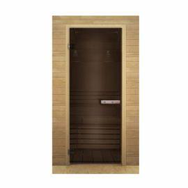 Дверь стекло бронза 1800х700 мм