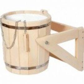 Обливное устройство 20 л с пластиковой вставкой (липа)